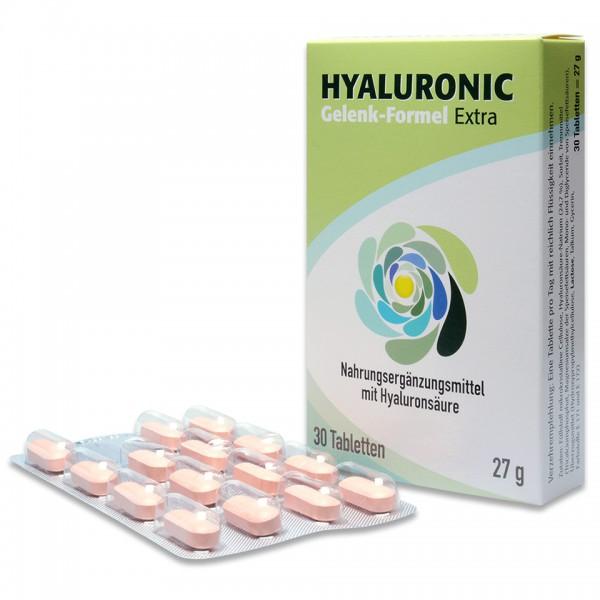 Hyaluronic Gelenk-Formel Extra