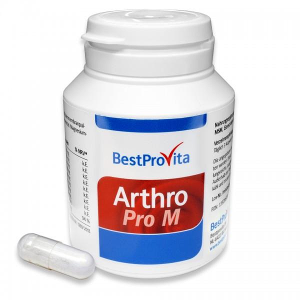 Arthro Pro M mit MSM, L-Methionin und Eierschalenmembran-Pulver-Copy
